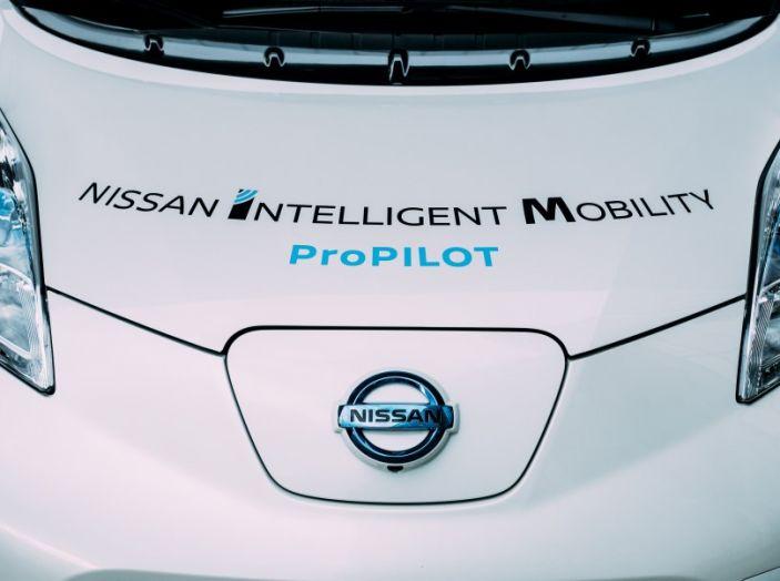 Nissan Leaf, la guida autonoma avanza nel traffico di Londra - Foto 23 di 23
