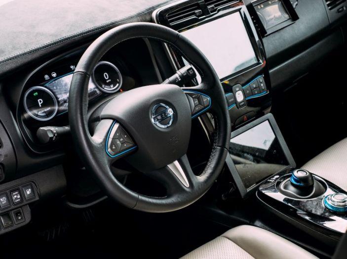 Nissan Leaf, la guida autonoma avanza nel traffico di Londra - Foto 13 di 23