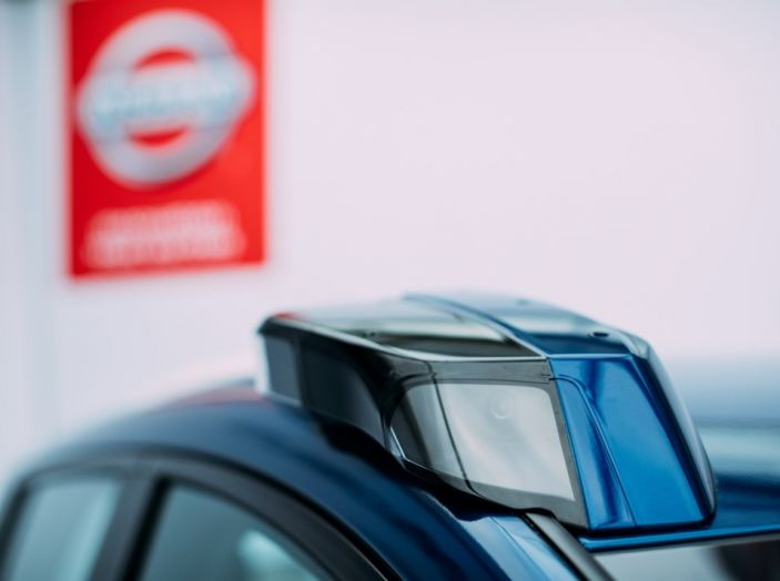 Nissan Leaf, la guida autonoma avanza nel traffico di Londra - Foto 15 di 23