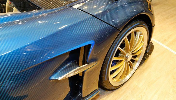 Pagani Huayra Roadster: torna il 6,0 litri V12 di derivazione AMG - Foto 21 di 22