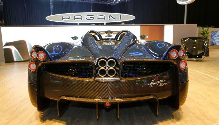 Pagani Huayra Roadster: torna il 6,0 litri V12 di derivazione AMG - Foto 2 di 22