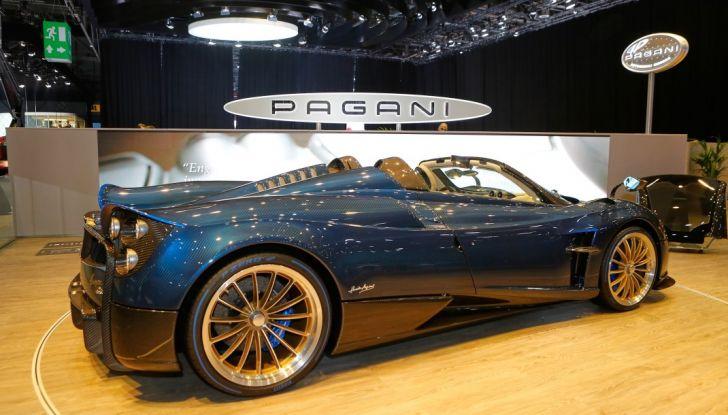Pagani Huayra Roadster: torna il 6,0 litri V12 di derivazione AMG - Foto 5 di 22