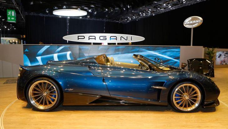 Pagani Huayra Roadster: torna il 6,0 litri V12 di derivazione AMG - Foto 6 di 22