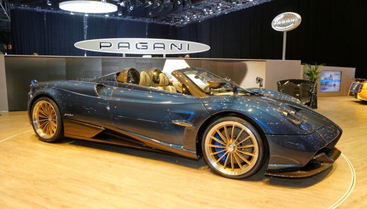 Pagani Huayra Roadster: torna il 6,0 litri V12 di derivazione AMG - Foto 8 di 22