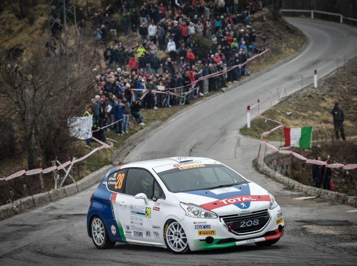 Marco Pollara (Team Peugeot Sport Italia) molto soddisfatto al Ciocco - Foto 2 di 6
