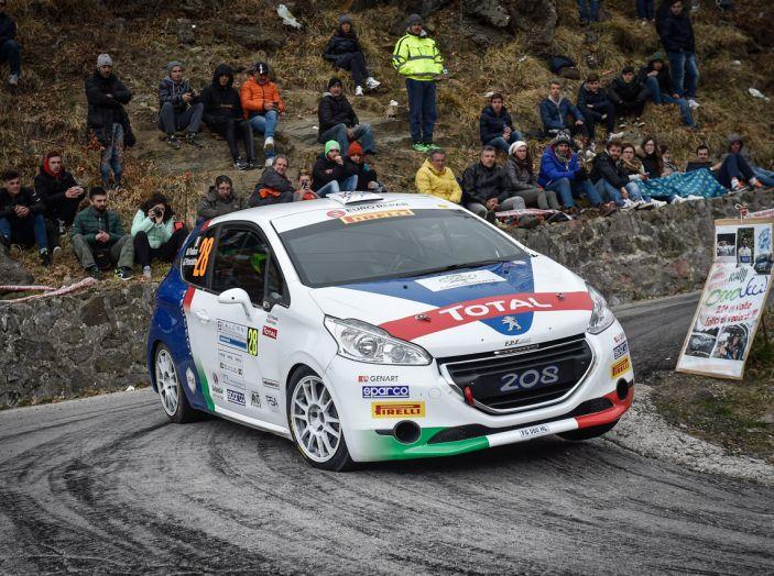 Marco Pollara (Team Peugeot Sport Italia) molto soddisfatto al Ciocco - Foto 3 di 6