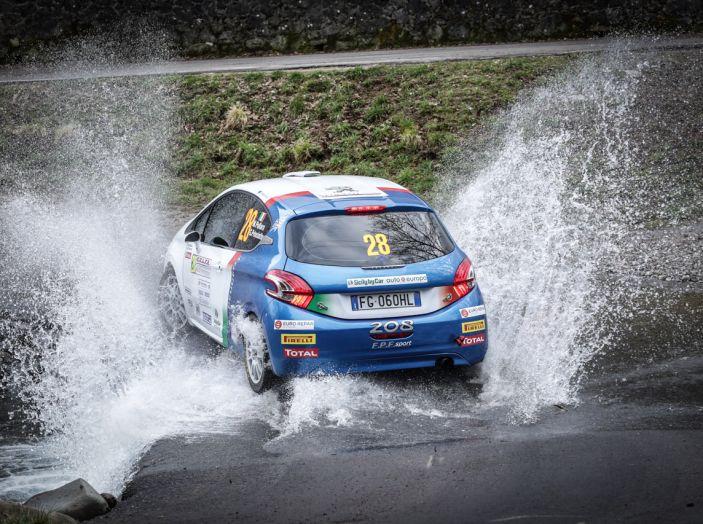 Marco Pollara (Team Peugeot Sport Italia) molto soddisfatto al Ciocco - Foto 4 di 6