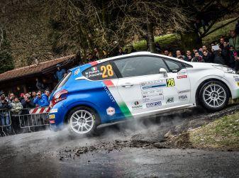 Marco Pollara (Team Peugeot Sport Italia) molto soddisfatto al Ciocco