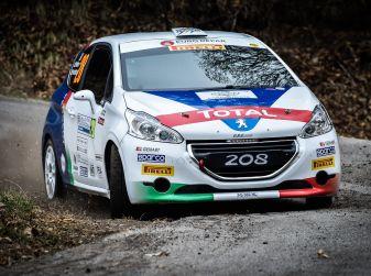 Pollara tiene alti i colori Peugeot al Ciocco
