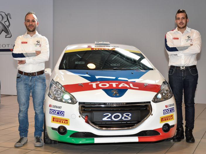 Marco Pollara (Team Peugeot Sport Italia) molto soddisfatto al Ciocco - Foto 6 di 6