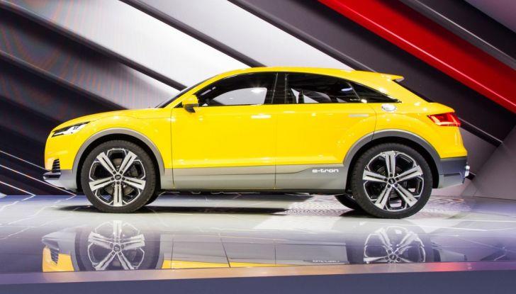 Audi Q4 in arrivo nel 2019 insieme ad Audi Q8 - Foto 2 di 7