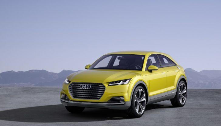 Audi Q4 in arrivo nel 2019 insieme ad Audi Q8 - Foto 1 di 7