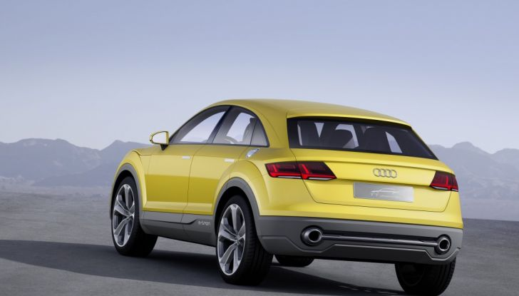 Audi Q4 in arrivo nel 2019 insieme ad Audi Q8 - Foto 5 di 7