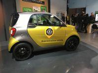 Smart Electric Drive, Smartphone ed auto in simbiosi
