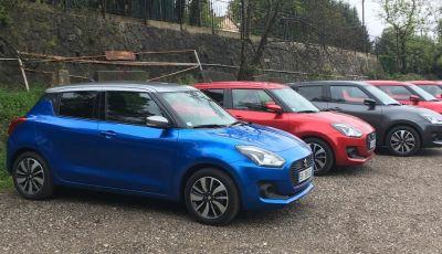 Nuova Suzuki Swift 2017, arriva l'ibrido: la nostra prova su strada