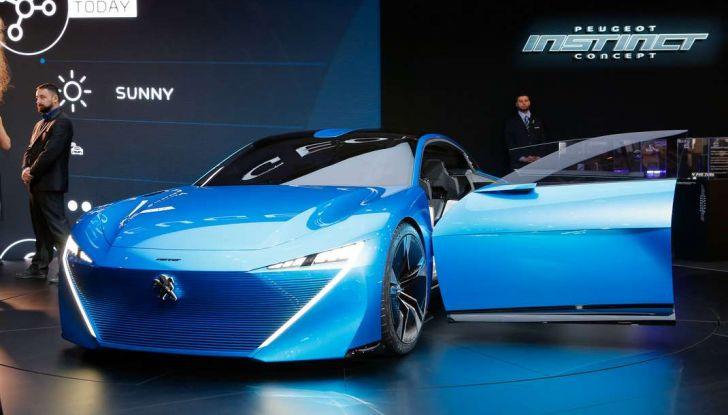 Peugeot Instinct Concept: la libertà di osare è al Salone di Ginevra 2017 - Foto 5 di 24