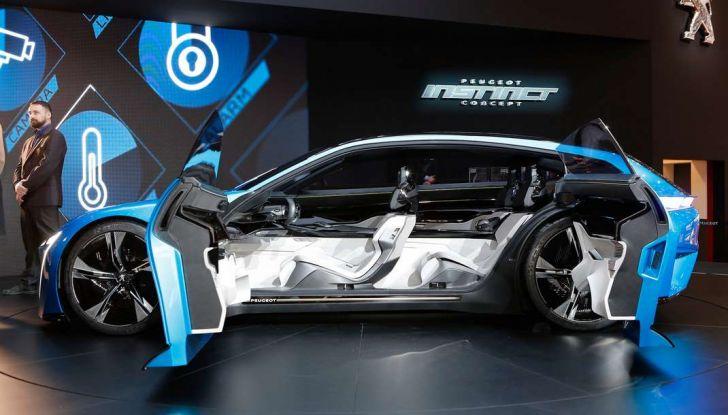 Peugeot Instinct Concept: la libertà di osare è al Salone di Ginevra 2017 - Foto 6 di 24
