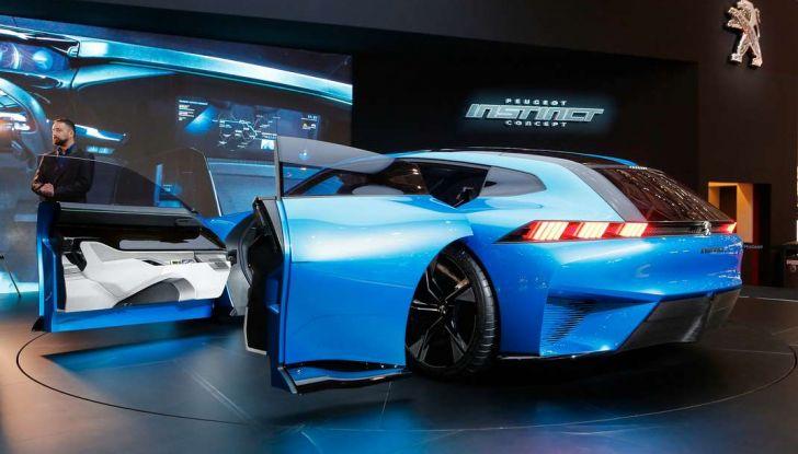 Peugeot Instinct Concept: la libertà di osare è al Salone di Ginevra 2017 - Foto 8 di 24