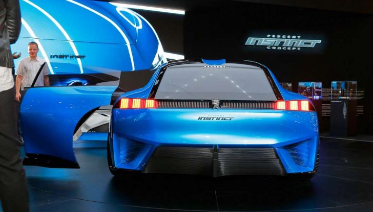 Peugeot Instinct Concept: la libertà di osare è al Salone di Ginevra 2017 - Foto 10 di 24