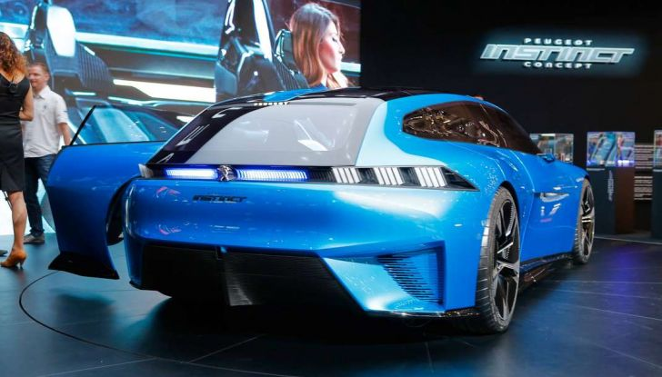Peugeot Instinct Concept: la libertà di osare è al Salone di Ginevra 2017 - Foto 11 di 24