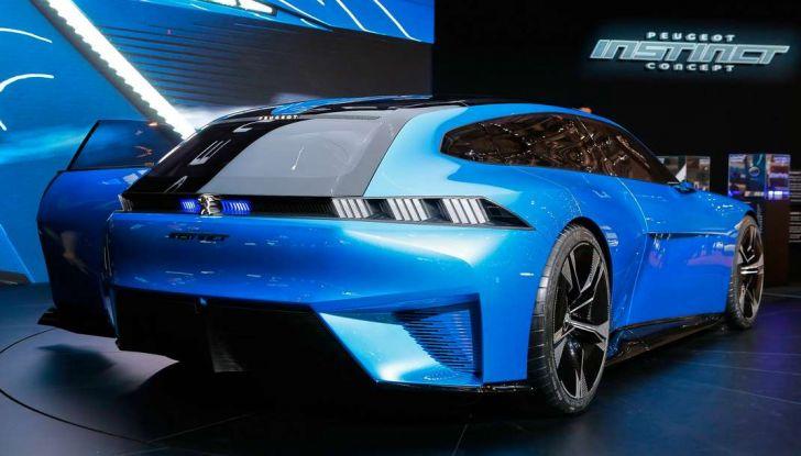 Peugeot Instinct Concept: la libertà di osare è al Salone di Ginevra 2017 - Foto 12 di 24