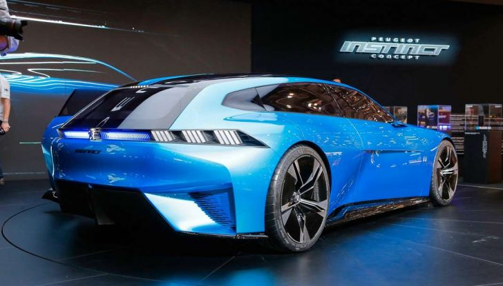 Peugeot Instinct Concept: la libertà di osare è al Salone di Ginevra 2017 - Foto 3 di 24