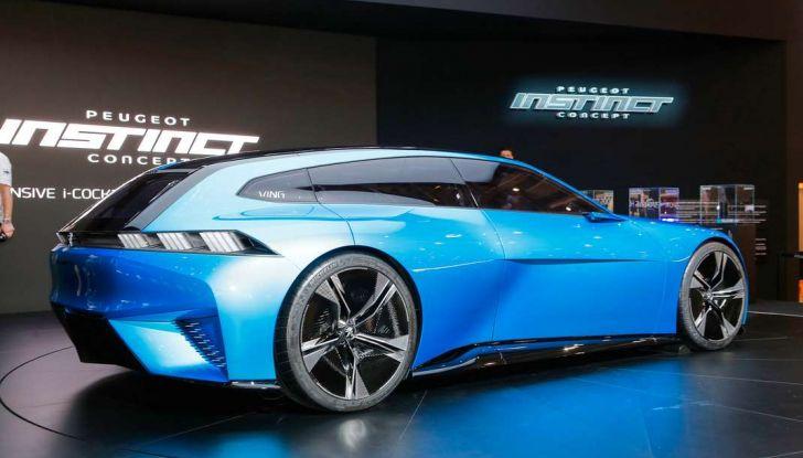 Peugeot Instinct Concept: la libertà di osare è al Salone di Ginevra 2017 - Foto 13 di 24