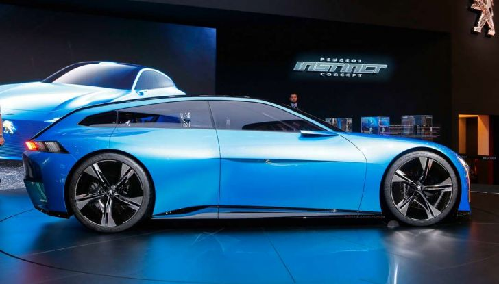 Peugeot Instinct Concept: la libertà di osare è al Salone di Ginevra 2017 - Foto 14 di 24