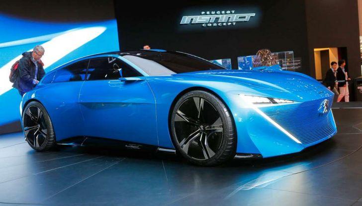Peugeot Instinct Concept: la libertà di osare è al Salone di Ginevra 2017 - Foto 15 di 24