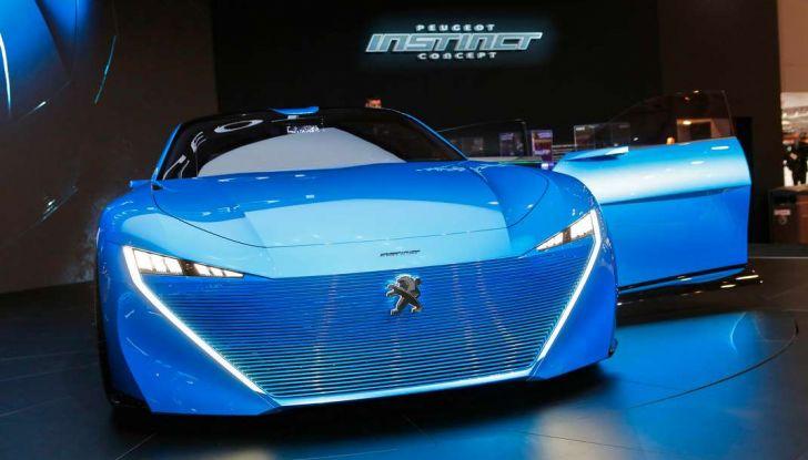 Peugeot Instinct Concept: la libertà di osare è al Salone di Ginevra 2017 - Foto 16 di 24