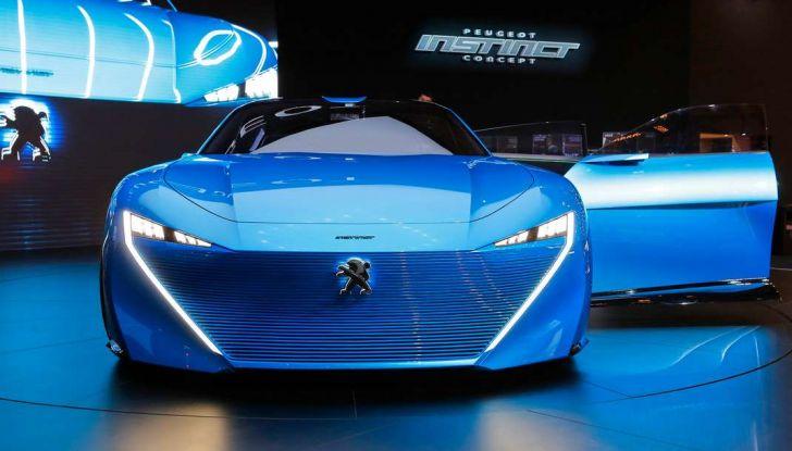 Peugeot Instinct Concept: la libertà di osare è al Salone di Ginevra 2017 - Foto 17 di 24