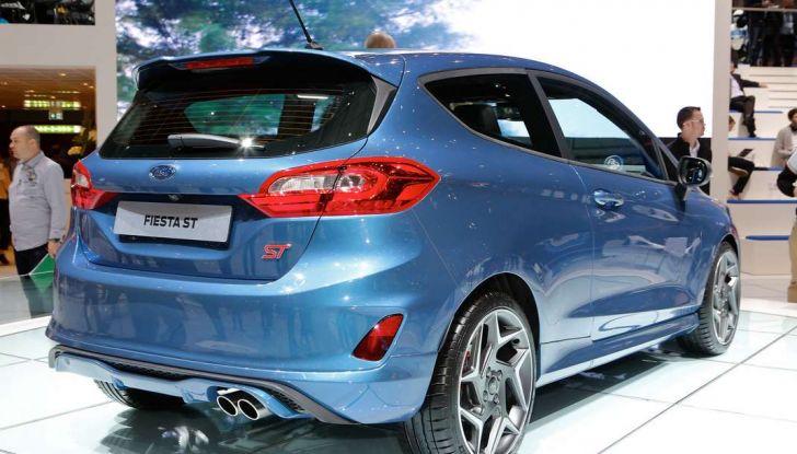 Nuova Ford Fiesta ST, debutta la nuova generazione - Foto 2 di 12