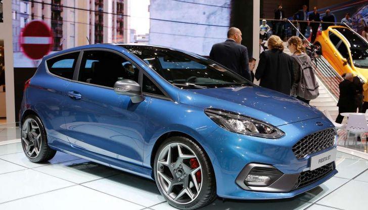 Nuova Ford Fiesta ST, debutta la nuova generazione - Foto 5 di 12