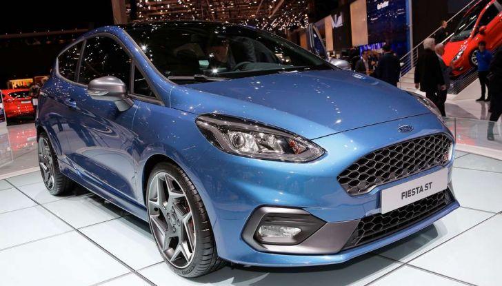 Nuova Ford Fiesta ST, debutta la nuova generazione - Foto 8 di 12
