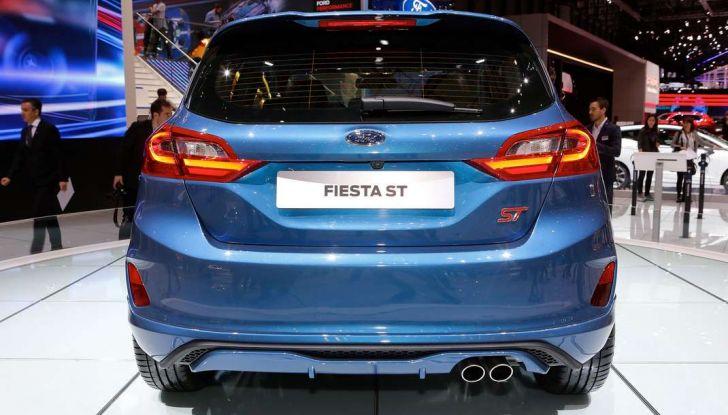 Nuova Ford Fiesta ST, debutta la nuova generazione - Foto 9 di 12