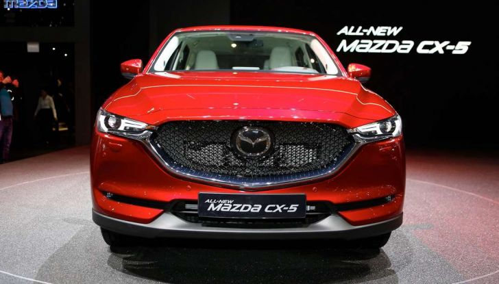 Mazda CX-5 2017: il nuovo SUV coupé in stile Kodo - Foto 13 di 19