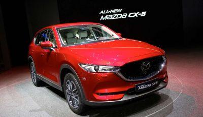 Mazda CX-5 2017: il nuovo SUV coupé in stile Kodo