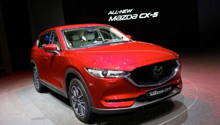 Mazda CX-5 2017: il nuovo SUV coupé in stile Kodo - Foto 1 di 19