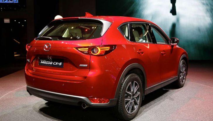 Mazda CX-5 2017: il nuovo SUV coupé in stile Kodo - Foto 14 di 19
