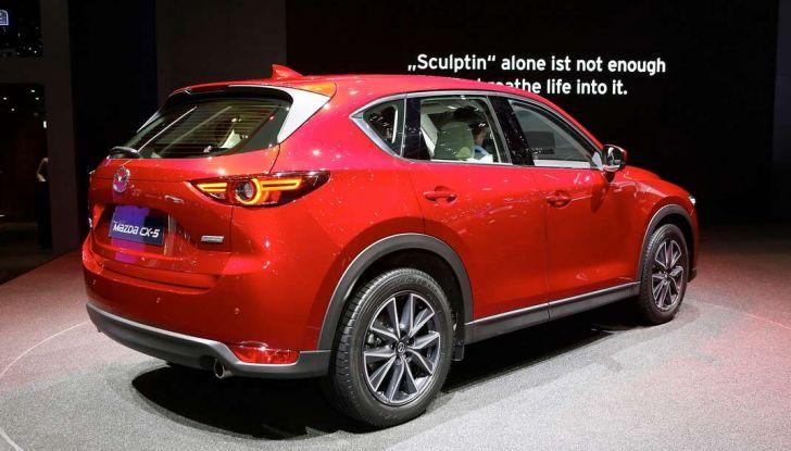 Mazda CX-5 2017: il nuovo SUV coupé in stile Kodo - Foto 16 di 19