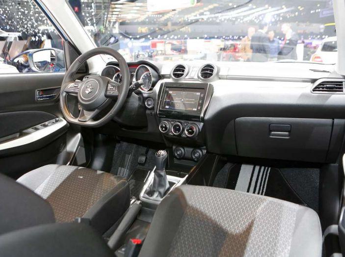 Nuova Suzuki Swift 2017, motorizzazioni e dati tecnici - Foto 5 di 13