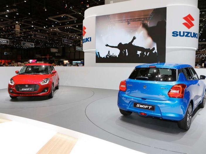 Nuova Suzuki Swift 2017, motorizzazioni e dati tecnici - Foto 12 di 13