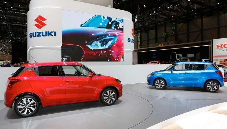 Nuova Suzuki Swift 2017, motorizzazioni e dati tecnici - Foto 13 di 13