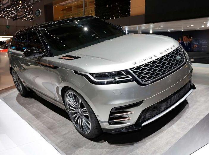 Range Rover Velar, il nuovo SUV di Land Rover - Foto 3 di 26