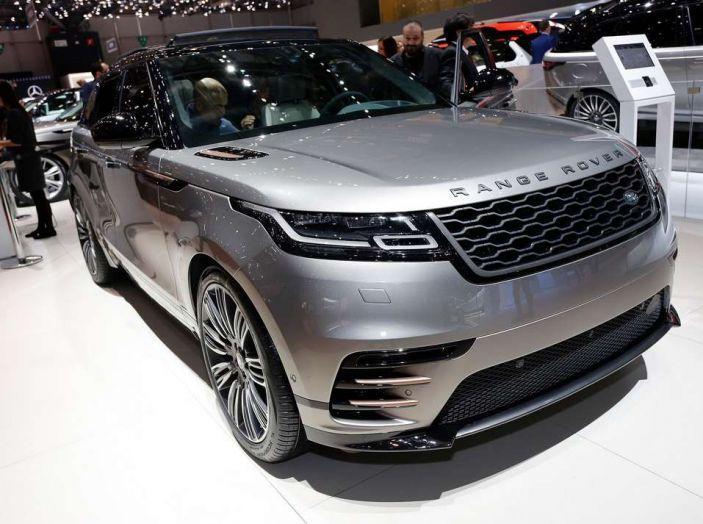 Range Rover Velar, il nuovo SUV di Land Rover - Foto 7 di 26