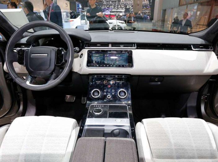 Range Rover Velar, il nuovo SUV di Land Rover - Foto 10 di 26