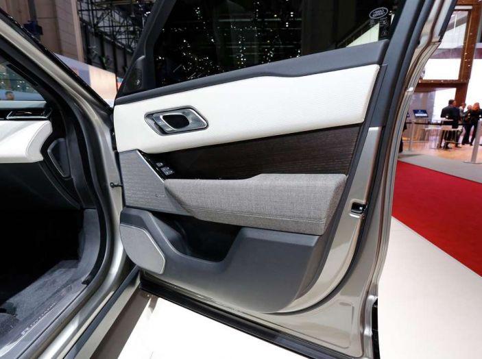 Range Rover Velar, il nuovo SUV di Land Rover - Foto 11 di 26