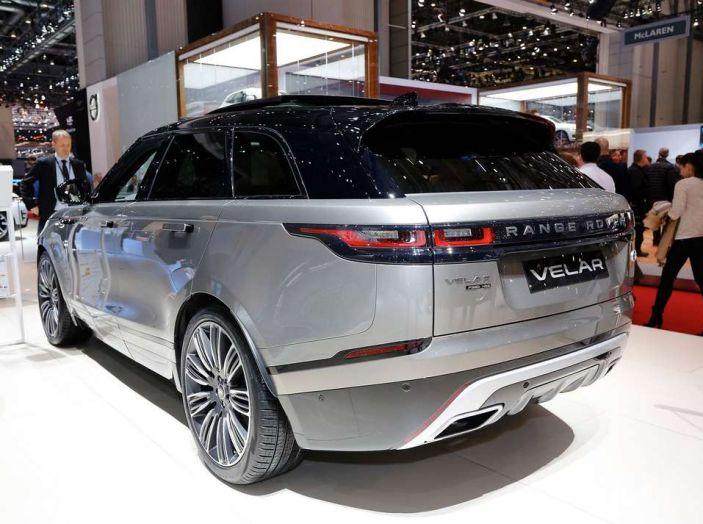 Range Rover Velar, il nuovo SUV di Land Rover - Foto 14 di 26