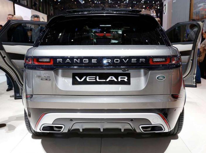 Range Rover Velar, il nuovo SUV di Land Rover - Foto 4 di 26