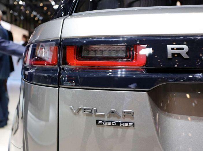 Range Rover Velar, il nuovo SUV di Land Rover - Foto 15 di 26